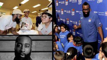 NBA Cares TV Spot, 'Community Service' Featuring James Harden - Thumbnail 4