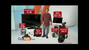 Quibids.com TV Spot, 'Best Place to Get Deals' - 11 commercial airings