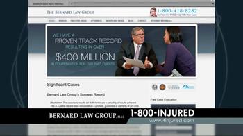 Bernard Law Group TV Spot, 'Google Search' - Thumbnail 3