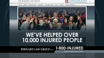Bernard Law Group TV Spot, 'Google Search' - Thumbnail 6