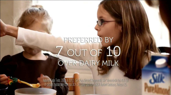 Silk Vanilla Almond Milk TV Spot, 'Preferred Over Dairy Milk' - Thumbnail 7