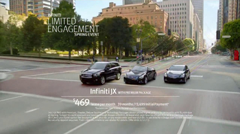 Infiniti Limited Engagement Spring Event TV Spot, 'Unravel' - Thumbnail 10