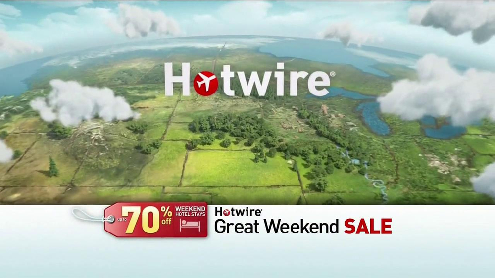 Hotwire Great Weekend Sale TV Spot