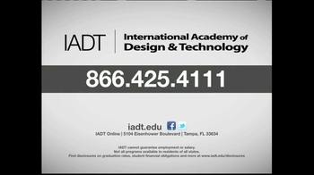 International Academy of Design and Technology TV Spot, 'Sneak Peek' - Thumbnail 9
