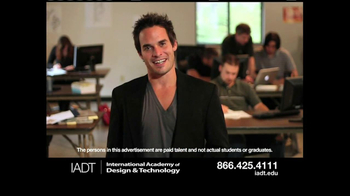 International Academy of Design and Technology TV Spot, 'Sneak Peek'