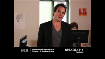 International Academy of Design and Technology TV Spot, 'Sneak Peek' - Thumbnail 7