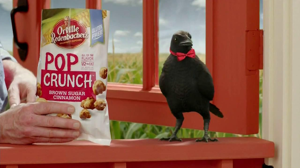 Orville Redenbacher's Pop Crunch TV Commercial, 'Talking Crow'
