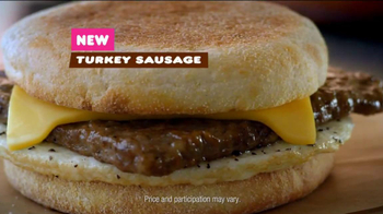 Dunkin' Donuts Turkey Sausage Breakfast Sandwich TV Spot, 'Try It' - Thumbnail 7