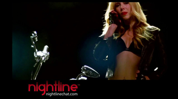 Nightline Chat TV Spot, 'Motorcycle' - Thumbnail 2