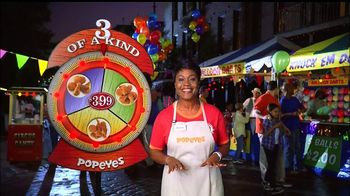 Popeyes 3 of a Kind TV Spot, 'Spin the Wheel' - 2513 commercial airings