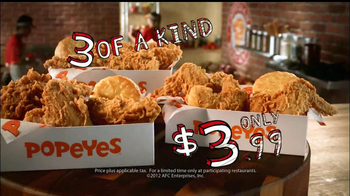 Popeyes 3 of a Kind TV Spot, 'Spin the Wheel' - Thumbnail 7