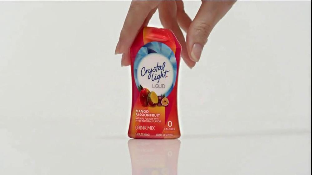 Crystal Light Liquid Mango Passionfruit TV Spot