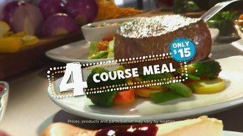 Outback Steakhouse Bonus Card TV Spot, 'Outback 4 Menu' - Thumbnail 8