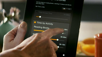 Amazon Kindle Fire HD TV Spot, 'Kid Controls' - Thumbnail 4
