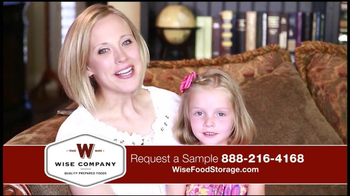 Wise Company Emergency Food Supply TV Spot, 'Most Valuable Asset'