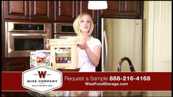Wise Company Emergency Food Supply TV Spot, 'Most Valuable Asset' - Thumbnail 2