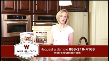 Wise Company Emergency Food Supply TV Spot, 'Most Valuable Asset' - Thumbnail 3