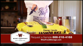 Wise Company Emergency Food Supply TV Spot, 'Most Valuable Asset' - Thumbnail 4