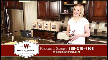 Wise Company Emergency Food Supply TV Spot, 'Most Valuable Asset' - Thumbnail 5
