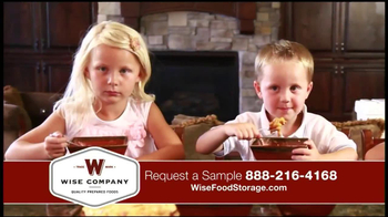 Wise Company Emergency Food Supply TV Spot, 'Most Valuable Asset' - Thumbnail 6