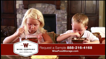 Wise Company Emergency Food Supply TV Spot, 'Most Valuable Asset' - Thumbnail 7