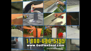 Flex Seal Brite TV Spot, 'Leaky Roof' - Thumbnail 6