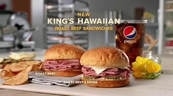 Arby's King's Hawaiian Roast Beef Sandwich TV Spot Feat. Bo Dietl - Thumbnail 10