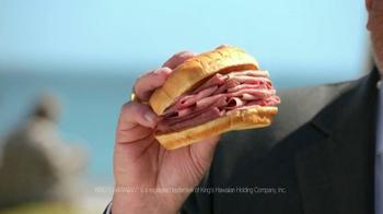 Arby's King's Hawaiian Roast Beef Sandwich TV Spot Feat. Bo Dietl - Thumbnail 3