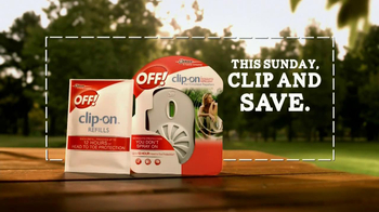 Off! Clip On Repellent TV Spot, 'Bubble' - Thumbnail 9