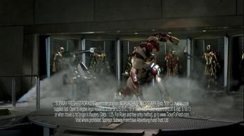 Subway TV Spot, 'Iron Man 3 Tickets' - Thumbnail 2