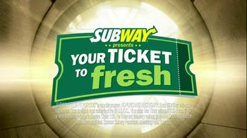Subway TV Spot, 'Iron Man 3 Tickets' - Thumbnail 3