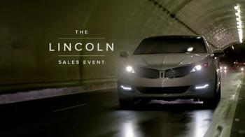 Lincoln MKZ Sales Event TV Spot - Thumbnail 2