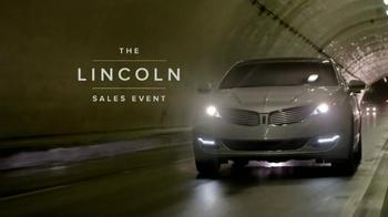 Lincoln MKZ Sales Event TV Spot - Thumbnail 3