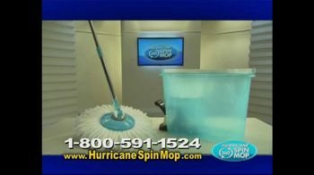 Hurricane Spin Mop TV Spot, 'Dirty Mess'