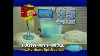 Hurricane Spin Mop TV Spot, 'Dirty Mess' - Thumbnail 10