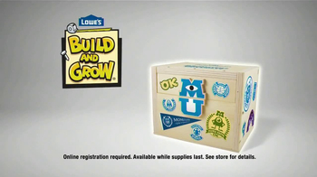 Lowe's TV Spot, 'Monsters U Build and Grow' - Thumbnail 10
