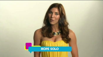 Cartoon Network TV Spot, 'Speak Up' Featuring Hope Solo