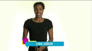 Cartoon Network TV Spot, 'Speak Up' Featuring Lisa Leslie - 9 commercial airings