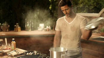 Kraft Zesty Italian Anything Dressing TV Spot, 'Steamy'