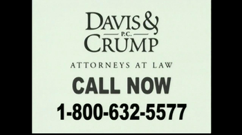 Davis & Crump, P.C. TV Spot, 'Confidential Call'