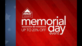 Ashley Furniture Homestore Memorial Day Event TV Spot - Thumbnail 1