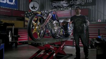 GEICO TV Spot, 'The GEICO Military Tribute Bike' Featuring Paul Teutul Jr. - 2601 commercial airings