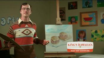 Arby's King's Hawaiian Roast Beef Sandwich TV Spot, 'Fun Arts' - Thumbnail 8