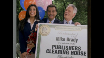 Publishers Clearing House TV Spot, 'Mike Brady' - Thumbnail 4