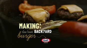 Kraft Singles TV Spot, 'Making: The Best Backyard Burger'