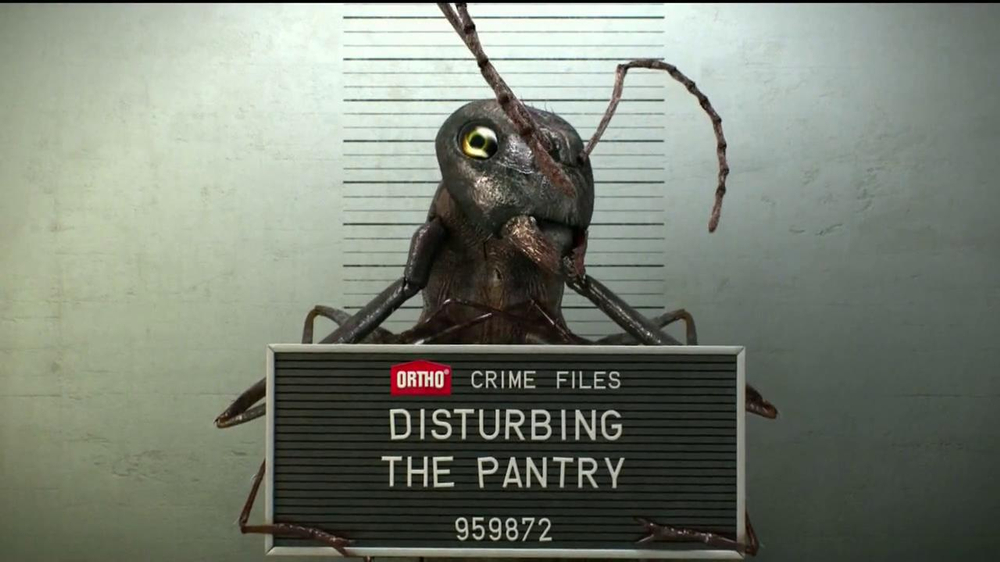 Ortho Weed B Gon MAX TV Commercial, 'Crime Files: Insects'