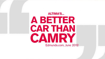 Nissan Altima TV Spot, 'Edmunds.com' - Thumbnail 1