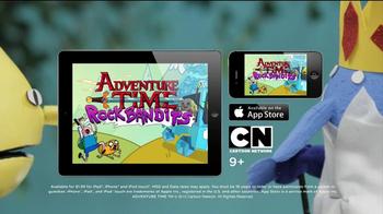 Adventure Time Rock Bandits Game App TV Spot, 'Unacceptable Band' - Thumbnail 9