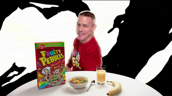 Fruity Pebbles TV Spot Featuring John Cena - Thumbnail 9