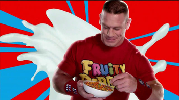 Fruity Pebbles TV Spot Featuring John Cena - 1213 commercial airings